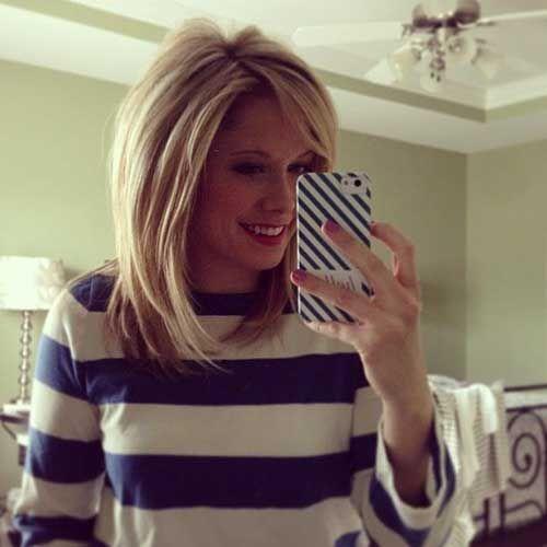 long bob hairstyles 2015 with layers | Voluminous Blonde Long ...