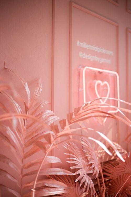 designbygemini paints palm trees in millennial pink at milan...