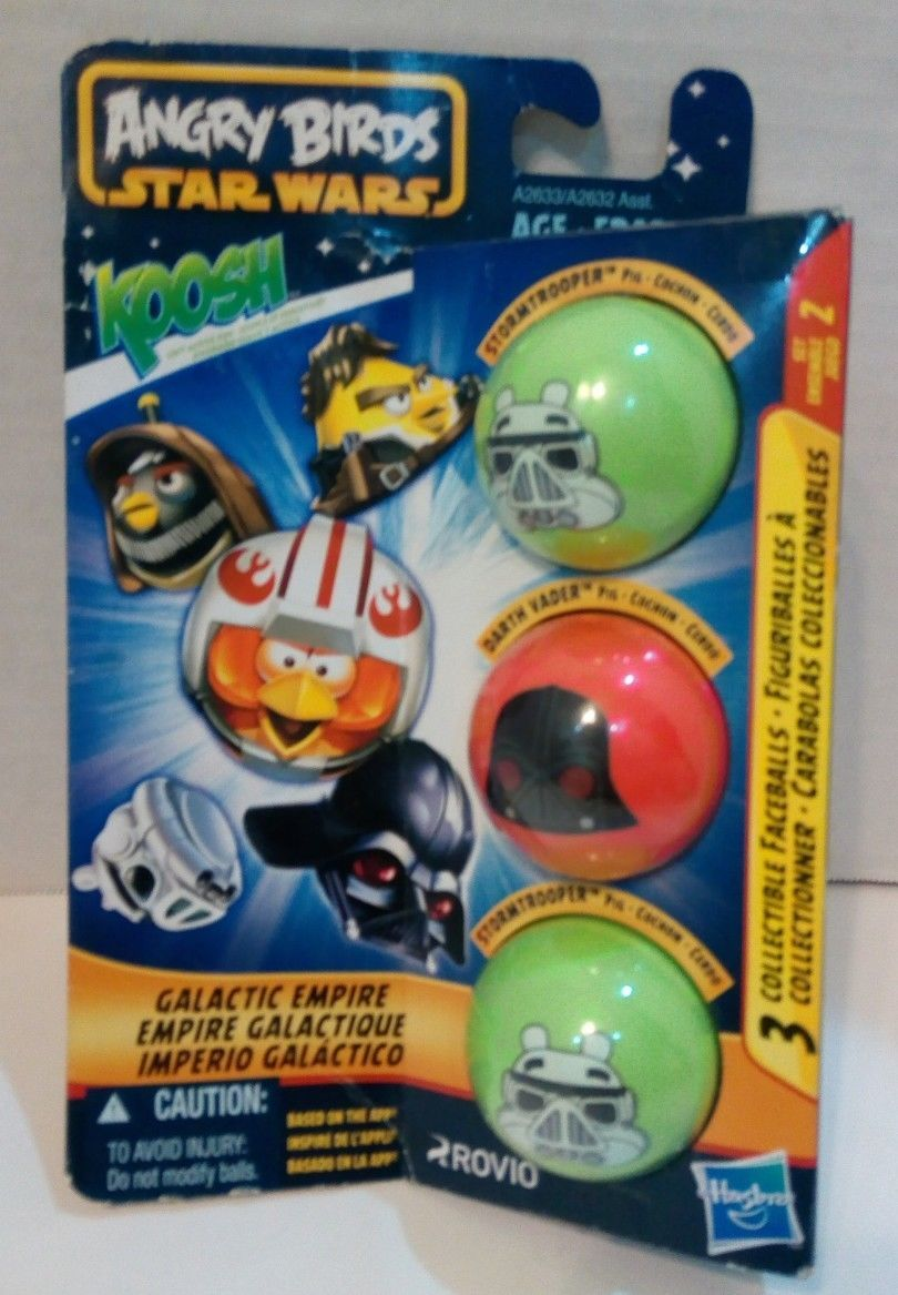 Angry Birds Star Wars Koosh Galactic Empire 3 Collectible