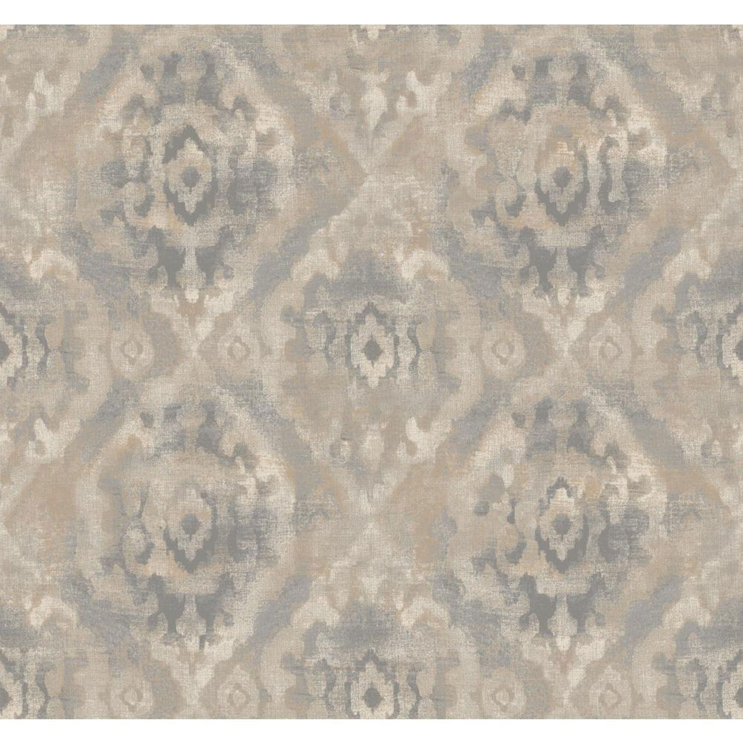 York Wallcoverings Ronald Redding Urban Grey And Beige