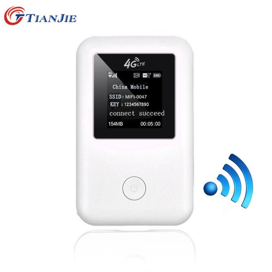Portable 4G LTE Wifi Wireless Router Cat4 Mobile Hotspot Modem Sim Card Unlocked