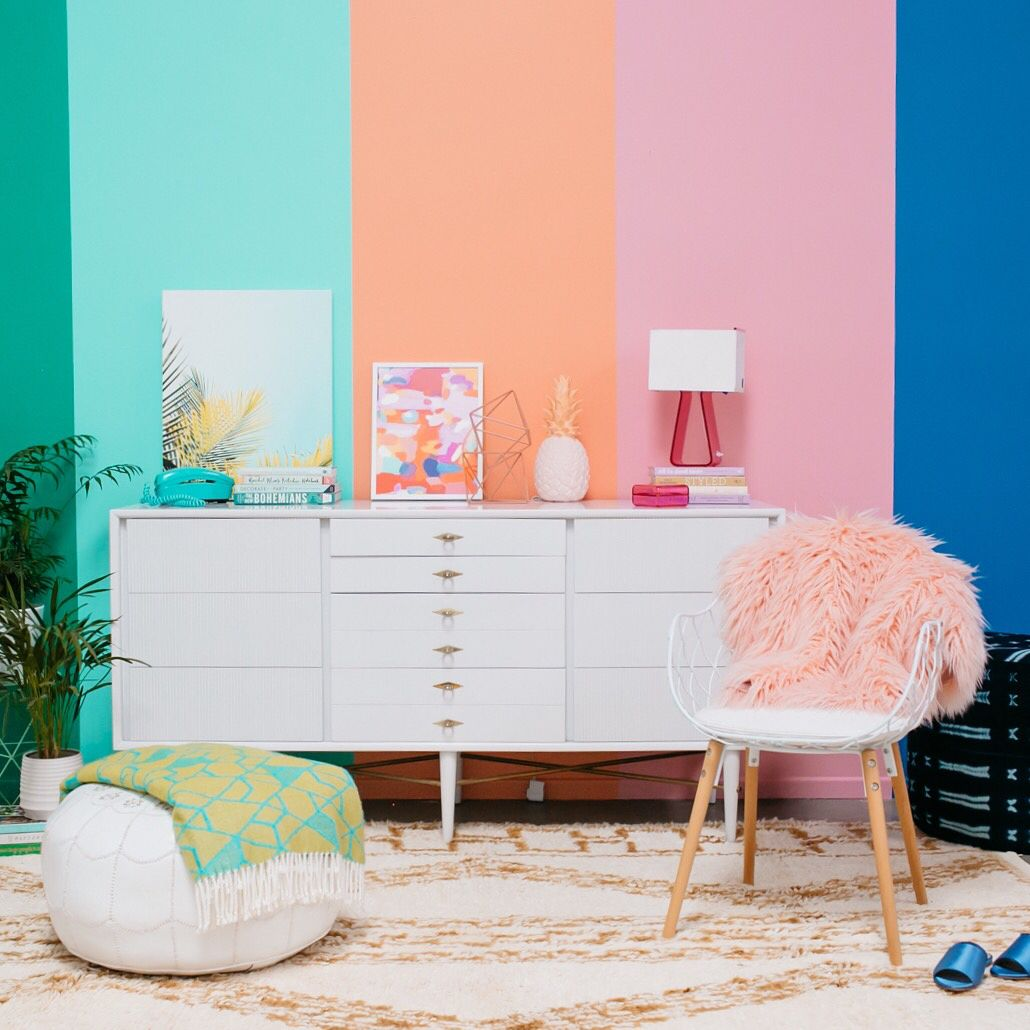 Is It Ok To Have Stripes On Accent Wall: Joy Cho / Oh Joy! (@ohjoy) On