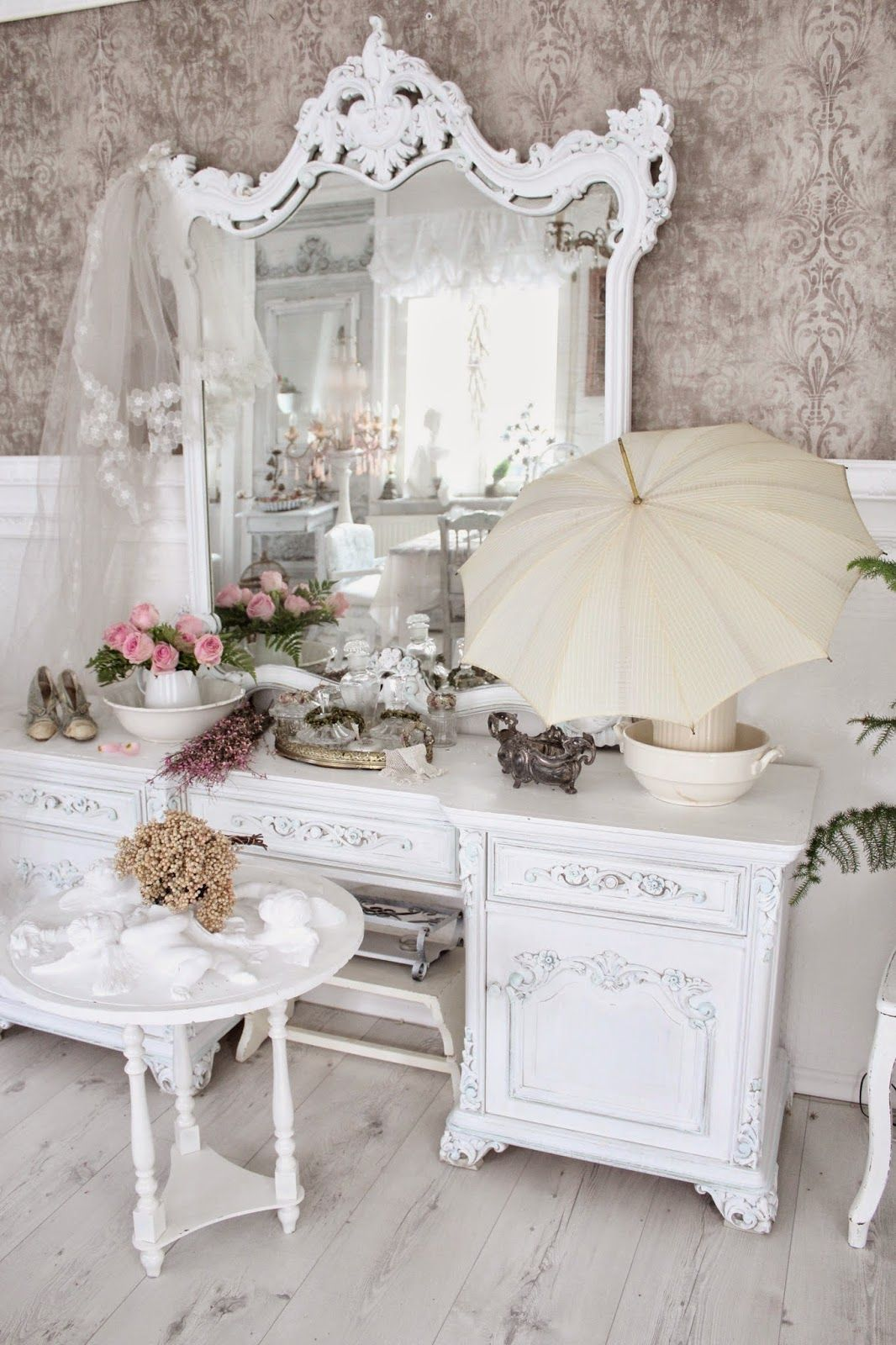 Neues schlafzimmer interieur shabby chic  more of like  pinterest  shabby möbel shabby und