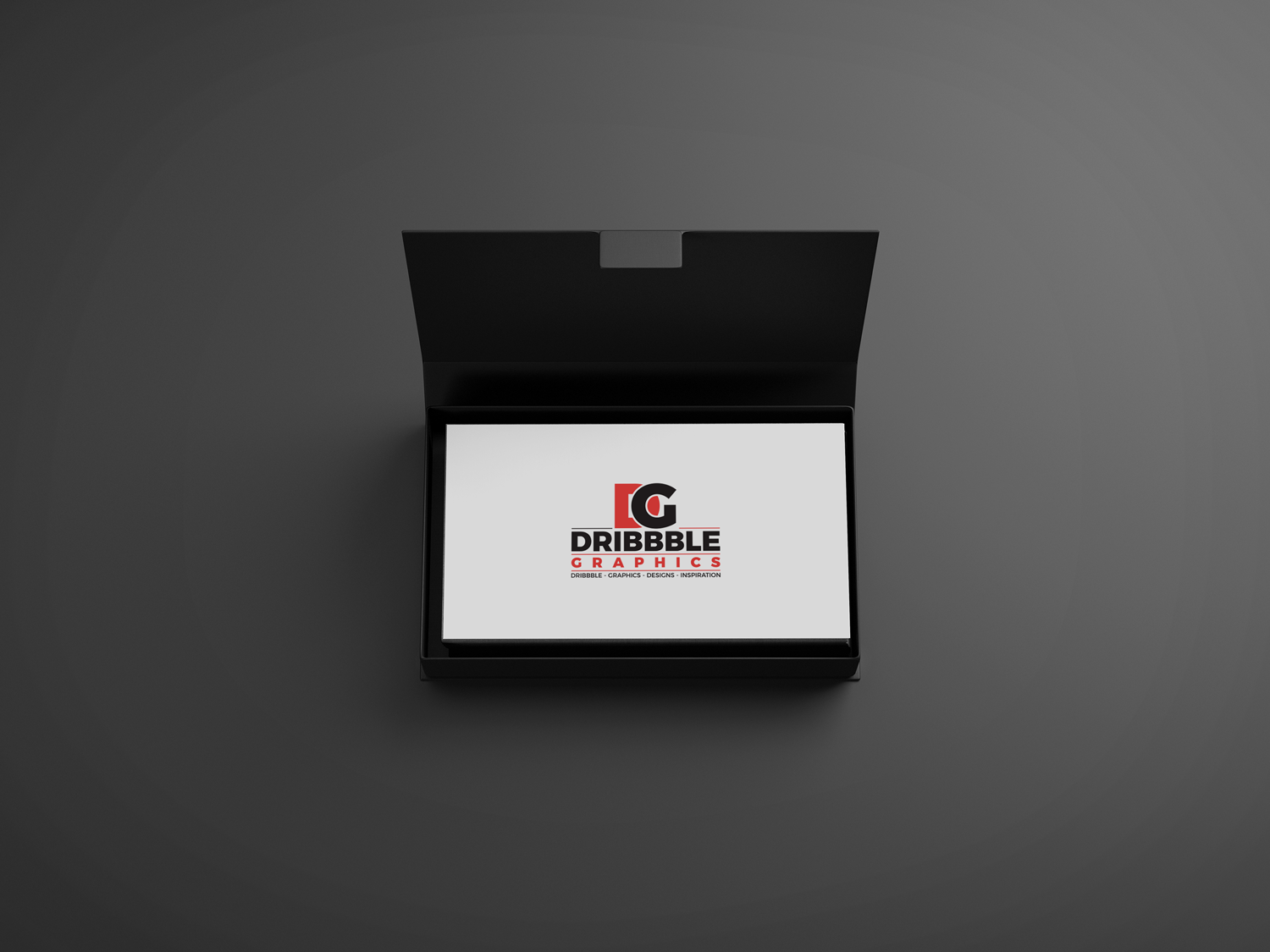 Download Free Business Cards In Box Mock Up 3 29 Mb Dribbble Graphics Free Photoshop Mockup Psd Business Card Box