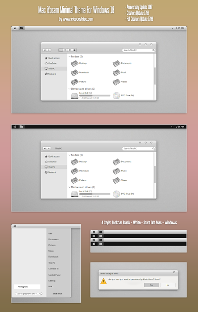 pin by cleodesktop on theme windows 10 pinterest minimal theme