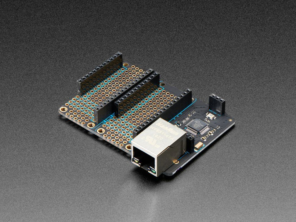 Particle Ethernet FeatherWing | Particle | Diy electronics