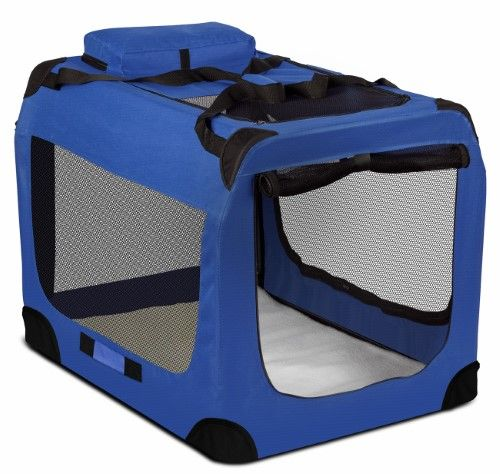 Oxgord Dog Crate Soft Sided Pet Carrier Foldable Portable