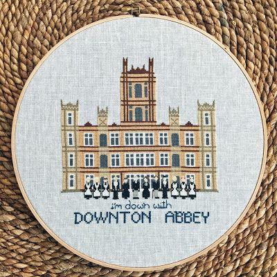 Lemon Verbena Downton Abbey Cross Stitch Cross Stitch