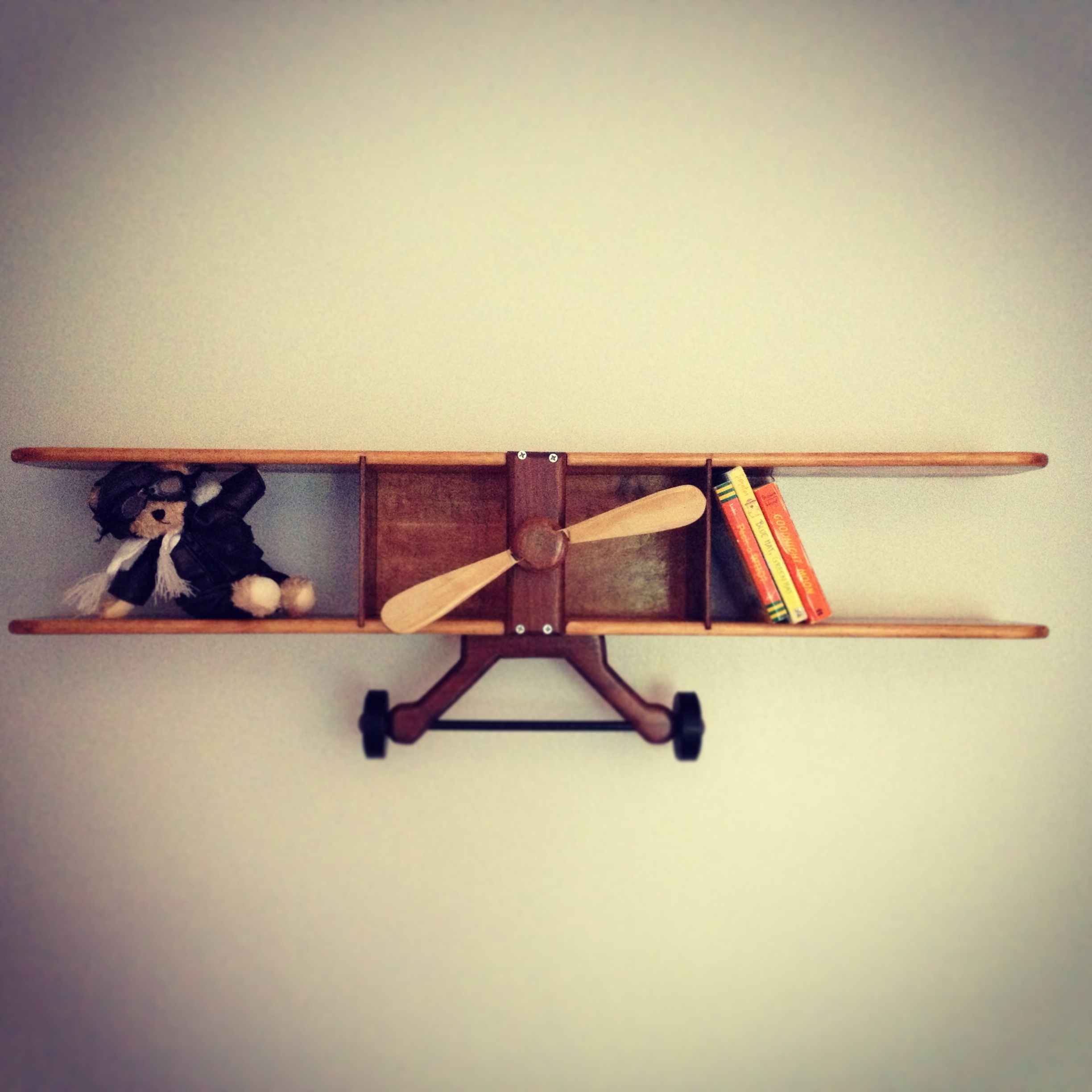 Travel/Aviator Nursery Airplane Bookshelf | Airplanes, Nursery and ...