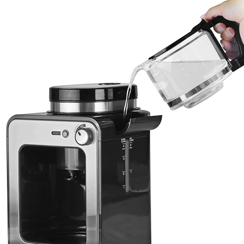 The Compact Grind And Brew Coffee Maker5 Coffee brewing