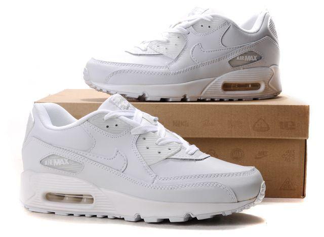 nike air max 90 womens white