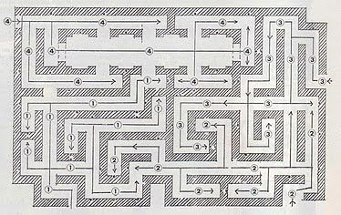 how to build a floor maze
