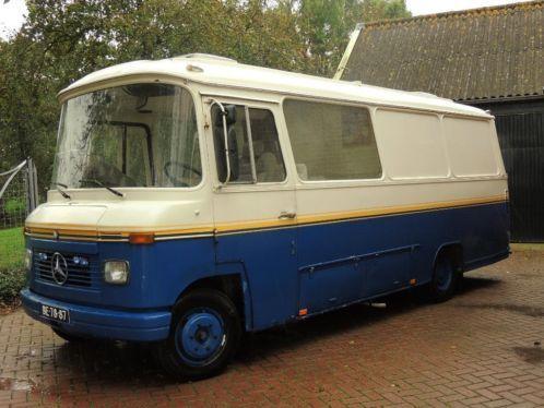 Mercedes benz oldtimer camper bussen busses pinterest for Mercedes benz rv camper