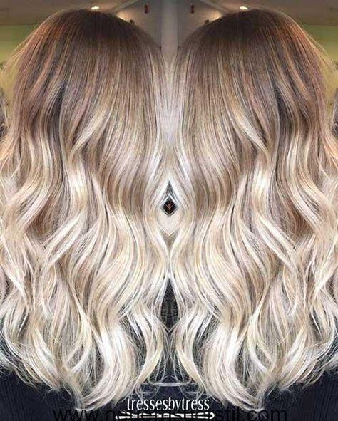 11 Lange Haare Farben Haarfarben Lange Haare Wellige Frisuren