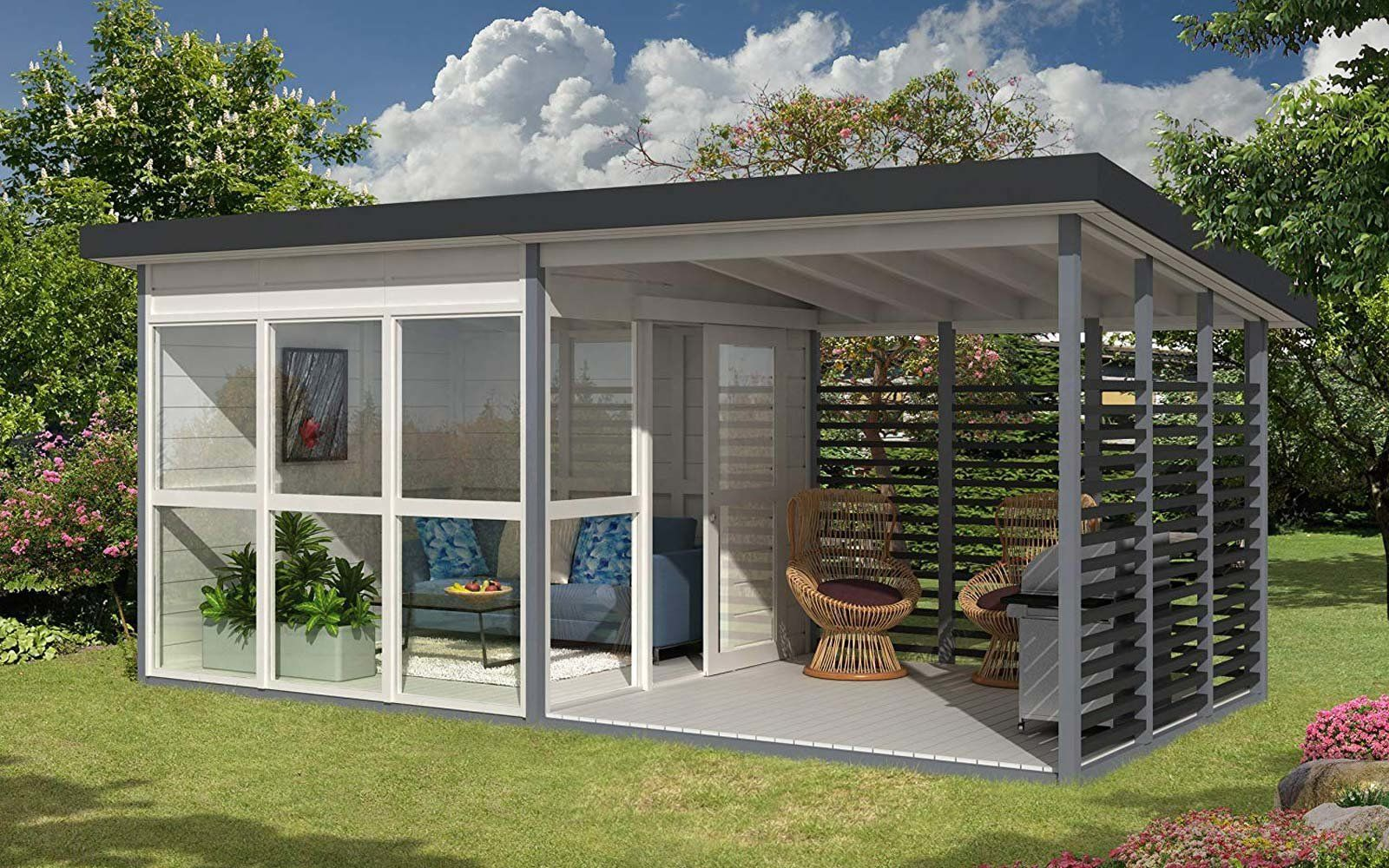 Amazon Is Selling A Diy Backyard Guest House That You Can Build In