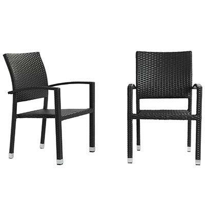 Swan Outdoor Patio Chair Set Of 2