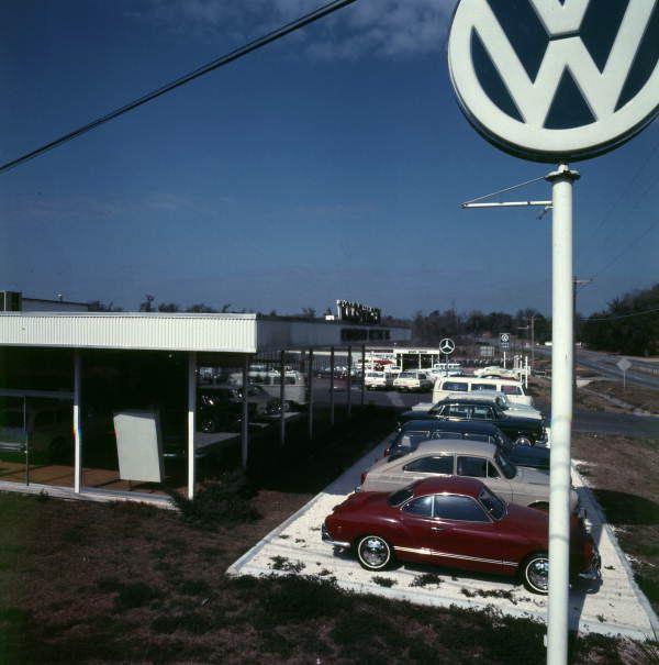 Kinnebrew Motors Inc Volkswagen Dealership Tallahassee Florida Vw Dealership Vintage Vw Vw Karmann Ghia