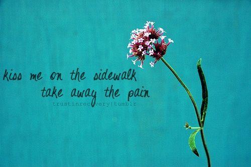 Take away the pain.