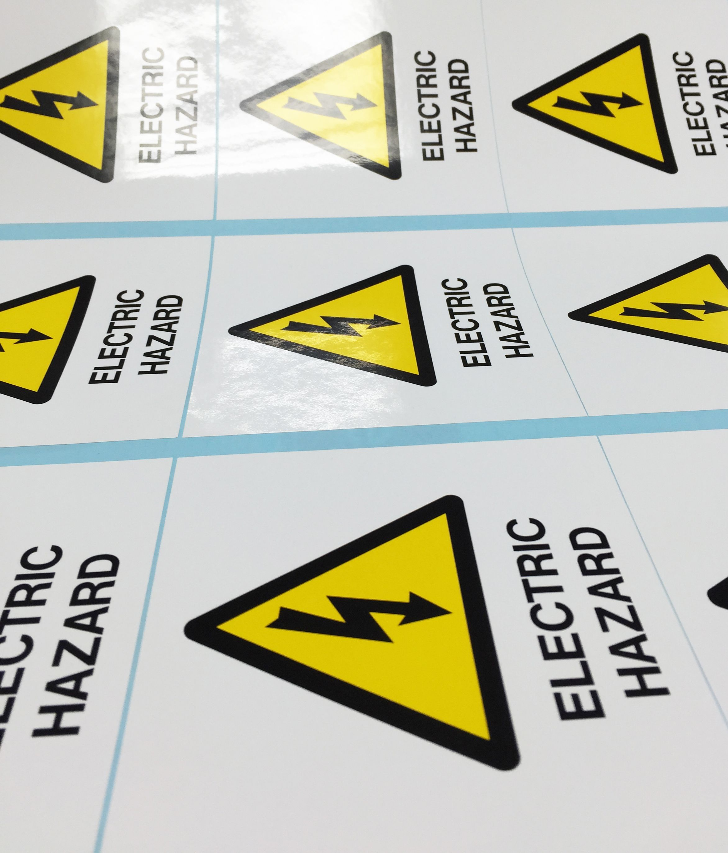 Safety Signs Andrews Signs & Engravers Print decals