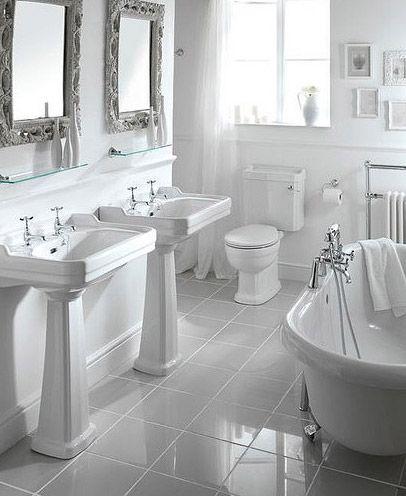 Baños Blanco | Todo Blanco Bano Blanco Bano Y Blanco
