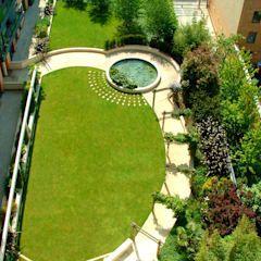 Jardines modernos de jardines paisajismo y decoraciones elyflor moderno | homify
