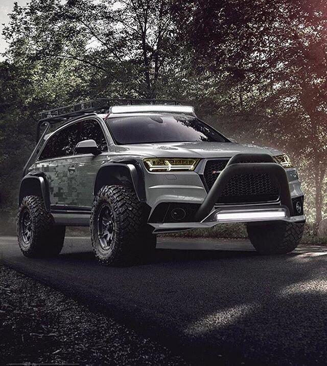 Cool Audi Audi Q7 Offroad Concept Audi cars car