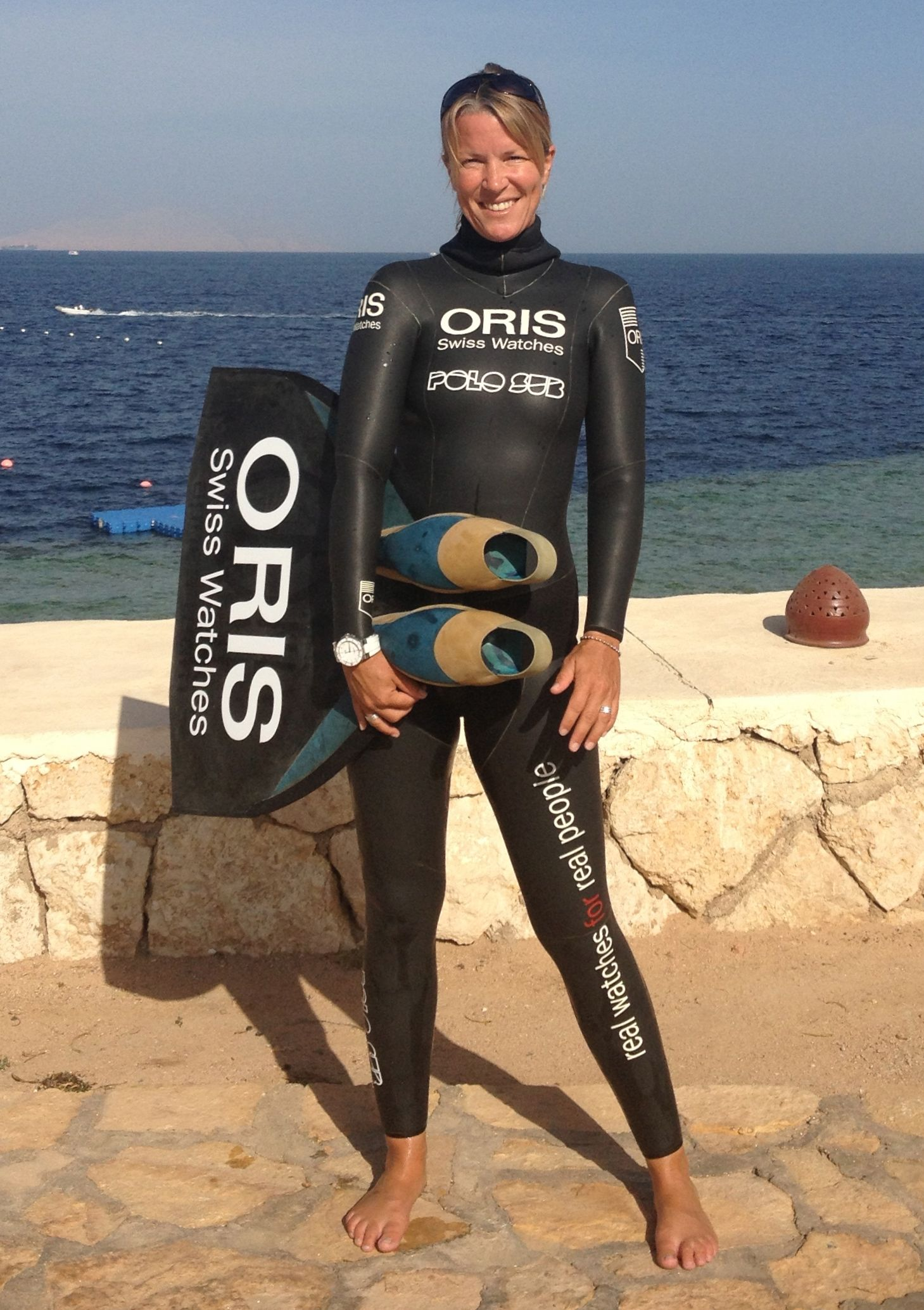 World Record Holder Dives in to a Partnership with Oris