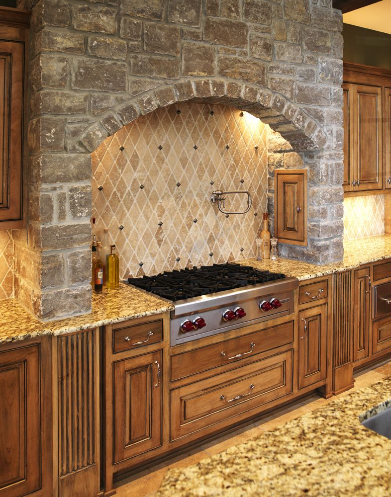 English Country - kitchen | Stone Vent Hoods | Pinterest | Cocinas ...