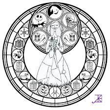 disney stained glass coloring pages - Google Search | Coloring Pages ...