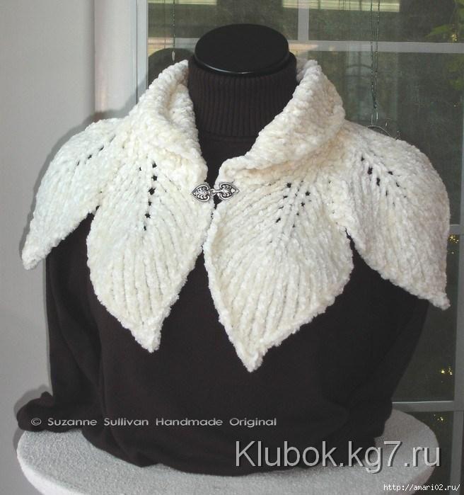 Schal - Blatt   Gewirr   Stricken   Pinterest   Knitting, Crochet ...