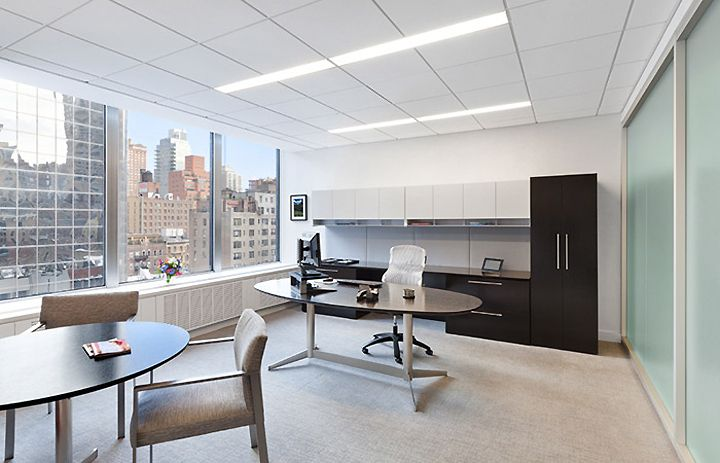 Avon executive suites by spacesmith new york office for Office new design