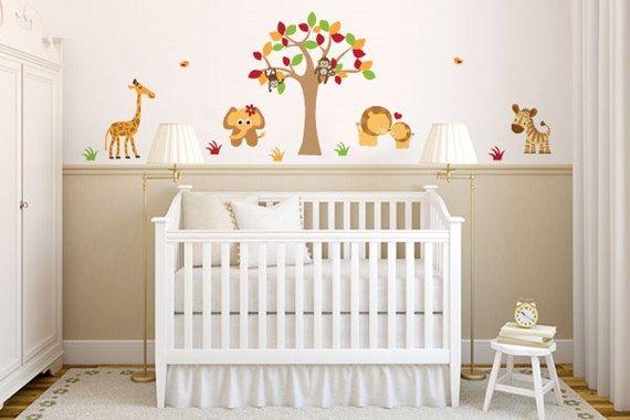 5 ideias para quarto de bebê safári Bebe, Bebé y Cuarto de bebe
