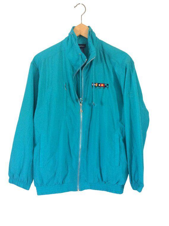 04e6ee26 Wind Suit Windbreaker Suit Teal Windbreaker Pants 90s Windbreaker Jacket  Nylon Windbreaker Retro Win