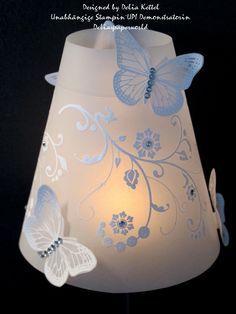 hallo ihr lieben heute langweile ich euch wieder mal mit einem lampenschirm f r ein weinglas. Black Bedroom Furniture Sets. Home Design Ideas