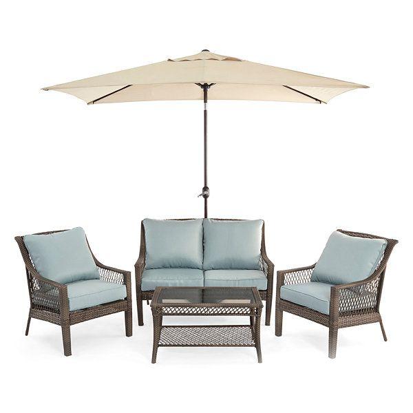 Outdoor Oasis Latigo 4pc Conversation, Jcpenney Outdoor Furniture