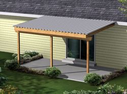 Covered deck roof designs patio cover plans house for Build a freestanding patio cover