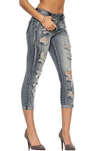 Rubberband Stretch Women's Cropped Skinny Jeans(Sarina/Ci... https://www.amazon.com/dp/B01DKX74NY/ref=cm_sw_r_pi_dp_FAPDxbRHJ5ZFC