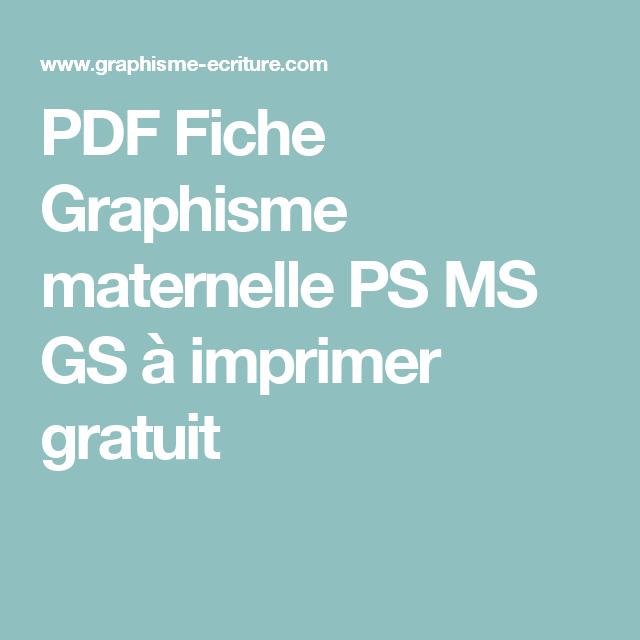 livre maternelle petite section gratuit pdf