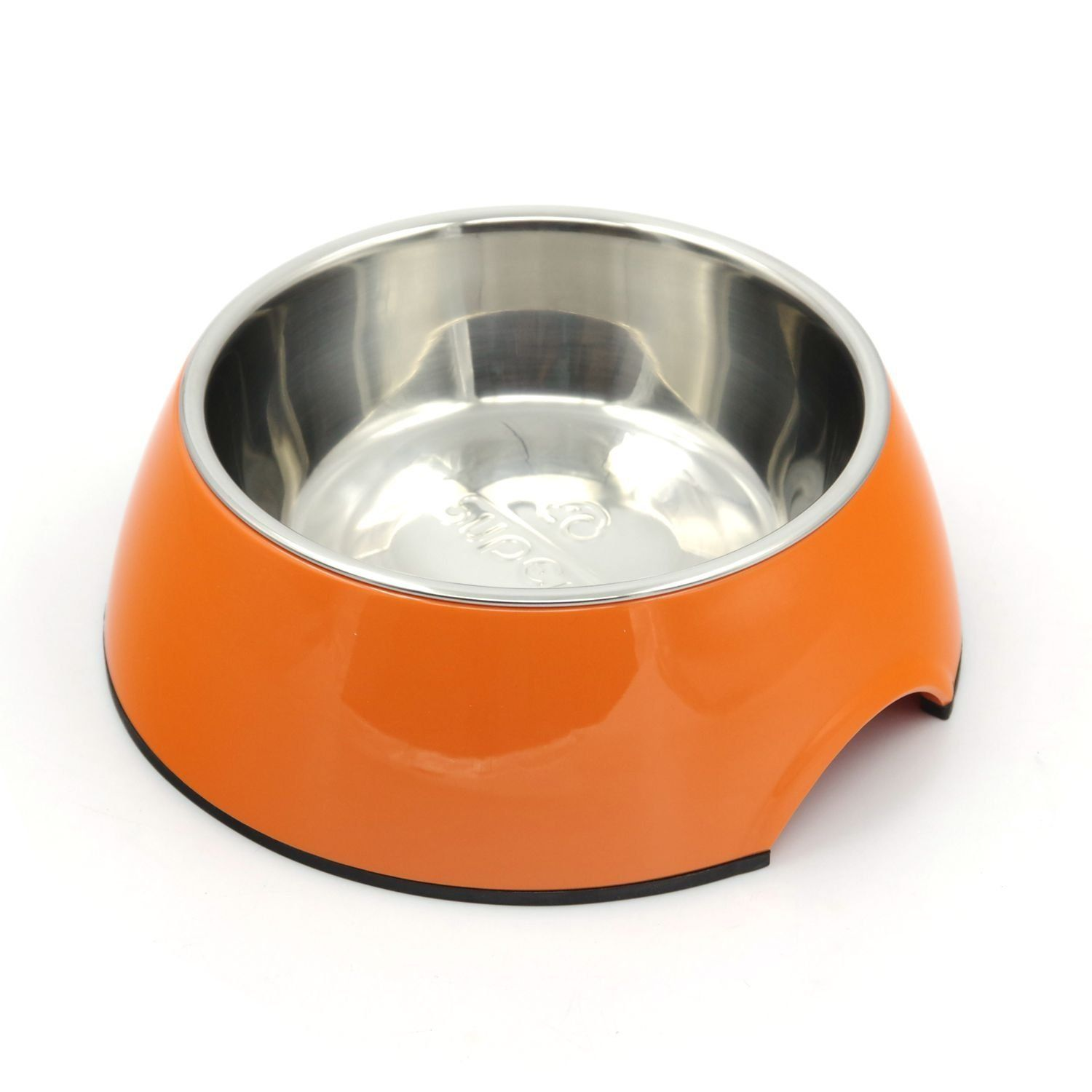 Uncategorized Dog Food And Water Bowl super design classic removable stainless steel pet food and water bowl in round melamine stand with