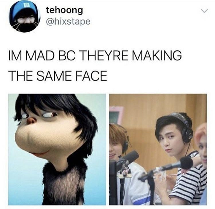 Those photos have the same energy I'm scared marty | The Kpop Side