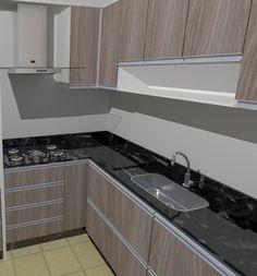 Resultado de imagem para bancada de cozinha