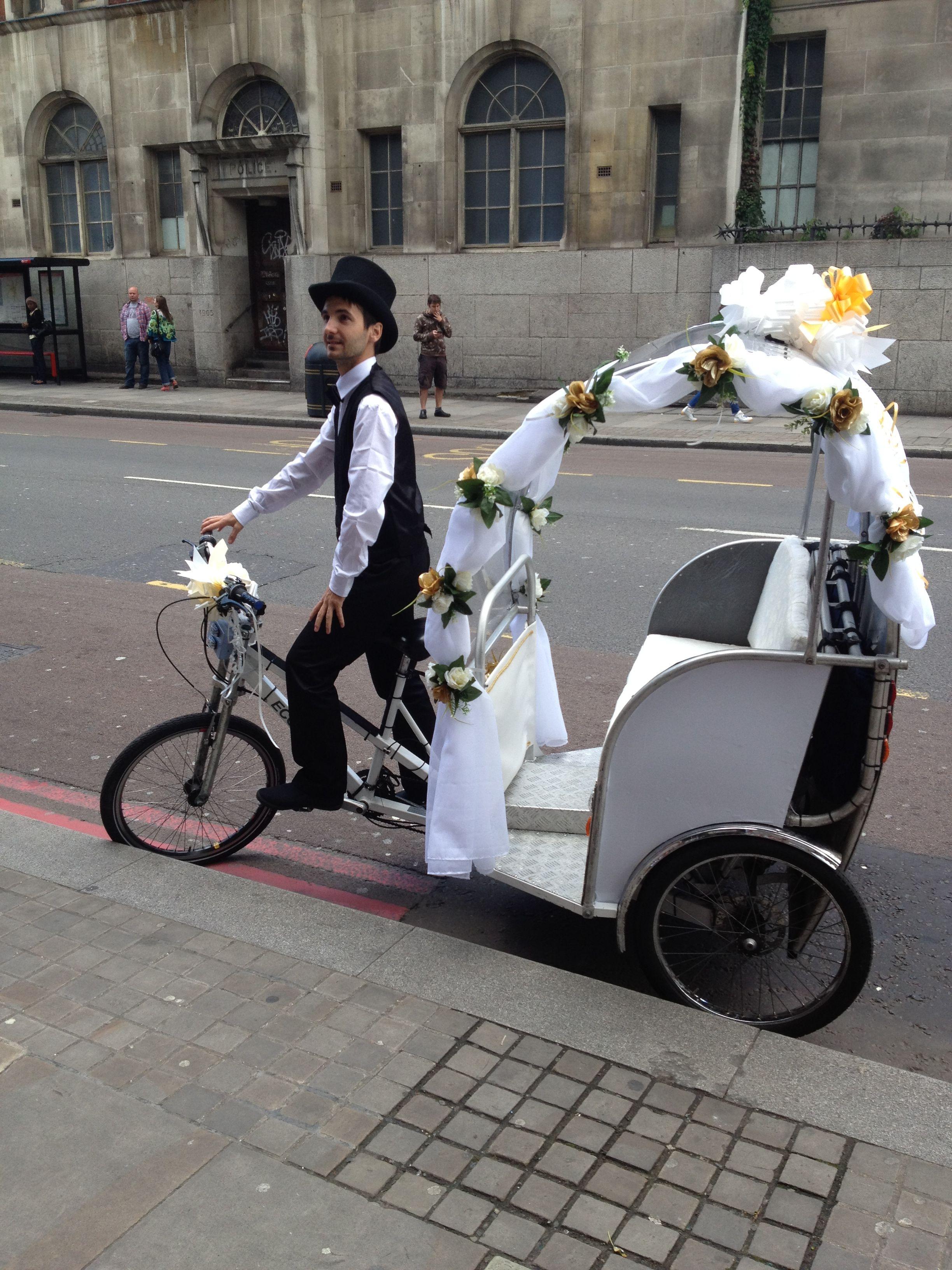 Wedding Rickshaw! Wedding send off, Mountain wedding