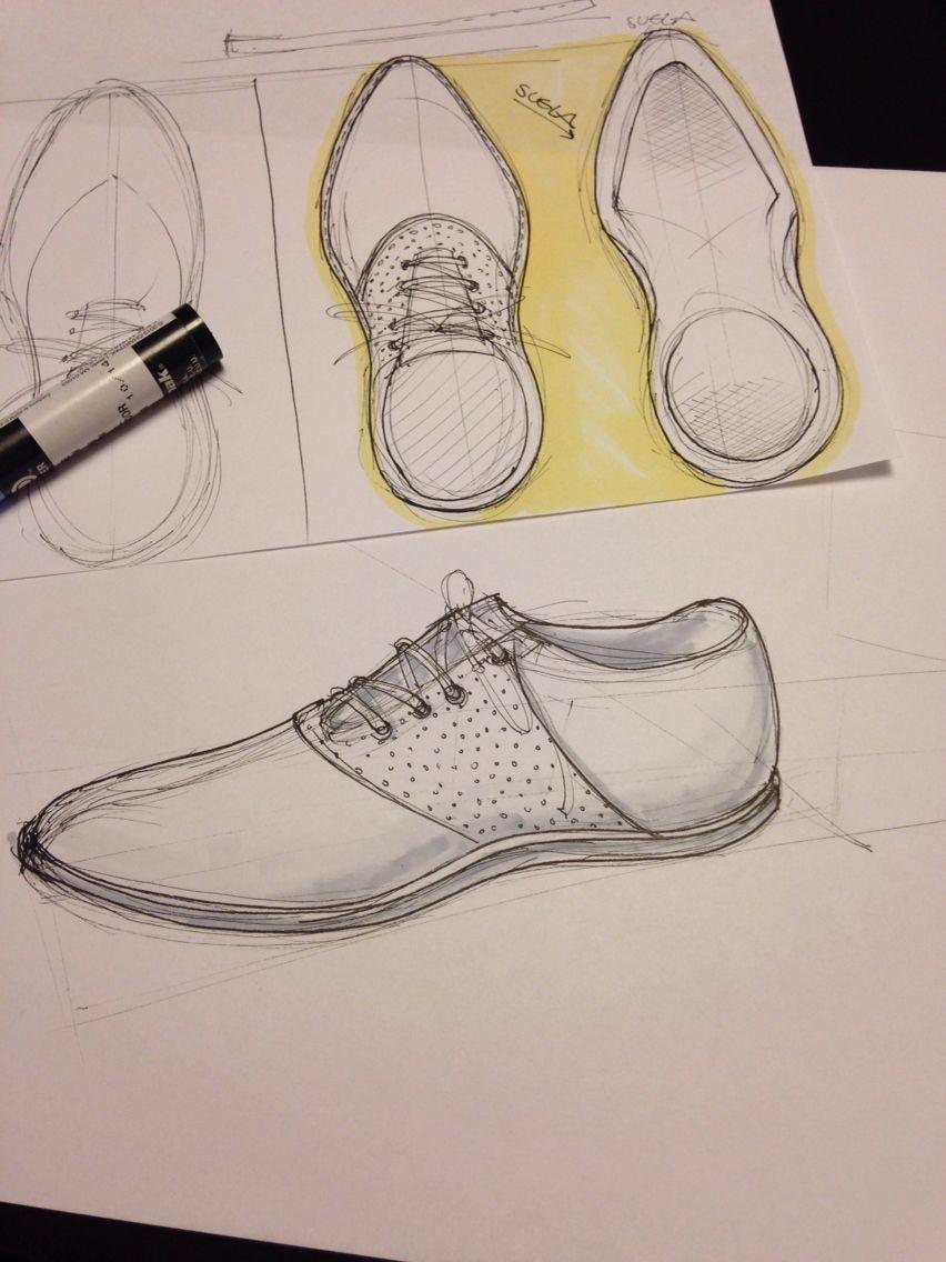 Shoe sketch by me