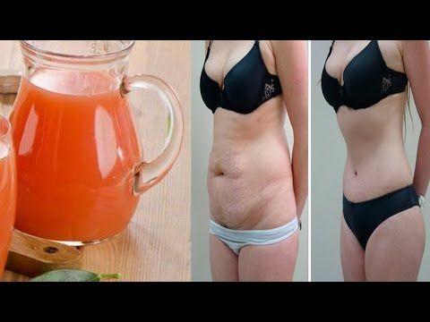 Bebe esto en ayunas por las mañanas y en 5 días eliminarás la grasa acumulada en el abdomen - YouTube