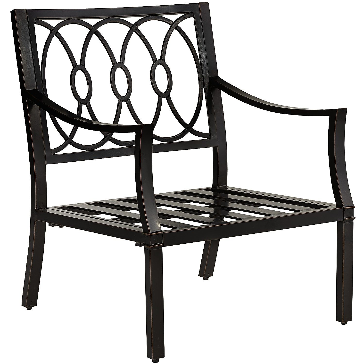 South Haven Armchair Bronze Aluminum Outdoor Outdoor Chairs Patio Chairs Chair