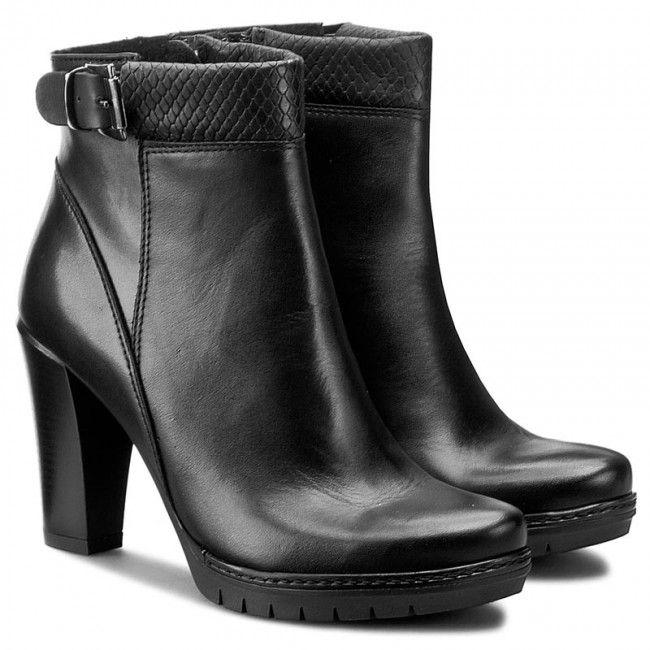 Botki Lasocki Mokka 02 Czarny Heels Shoes Ankle Boot