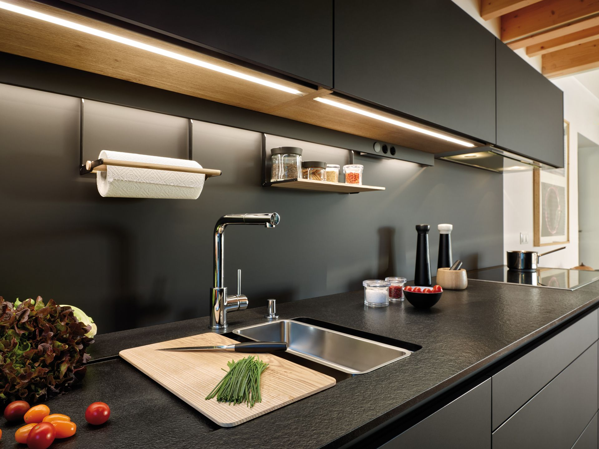 Cocinas Negras Nuevas Tendencias En Cocinas Fotos E Ideas In 2020