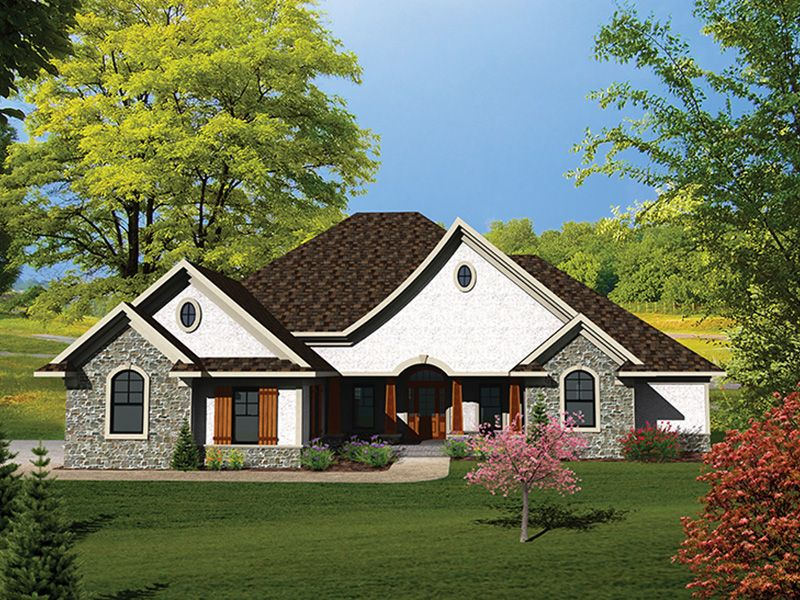 San Simone Country French Home Ranch Style House Plans House Plans Country Style House Plans