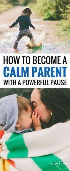 How to let go of anger + frustration to become a calmer parent #parenting