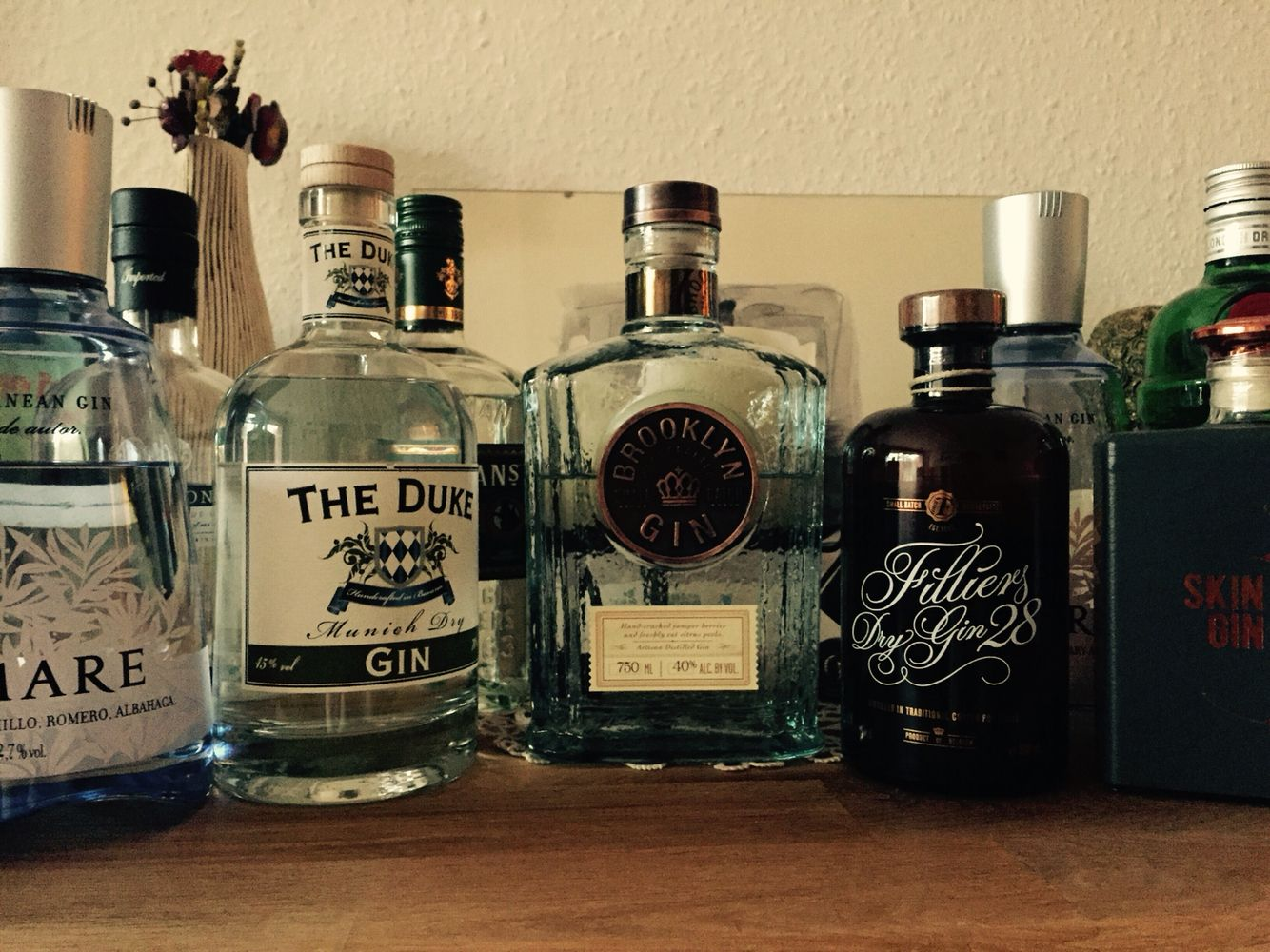 my gin collection